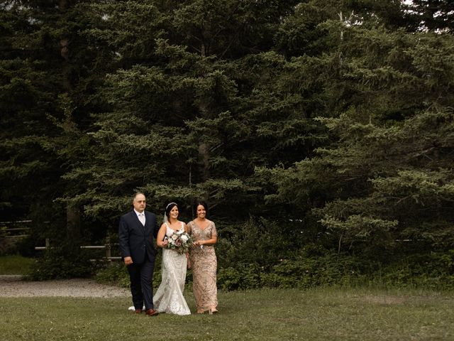 Dysin and Brittney's wedding in Canmore, Alberta 116
