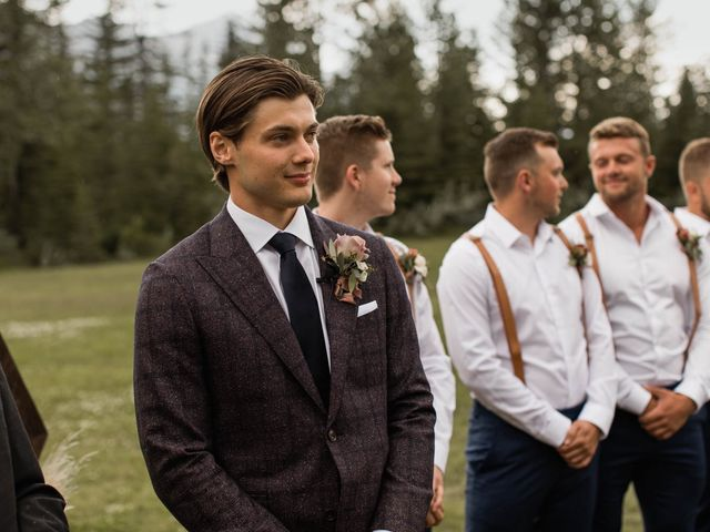 Dysin and Brittney's wedding in Canmore, Alberta 117