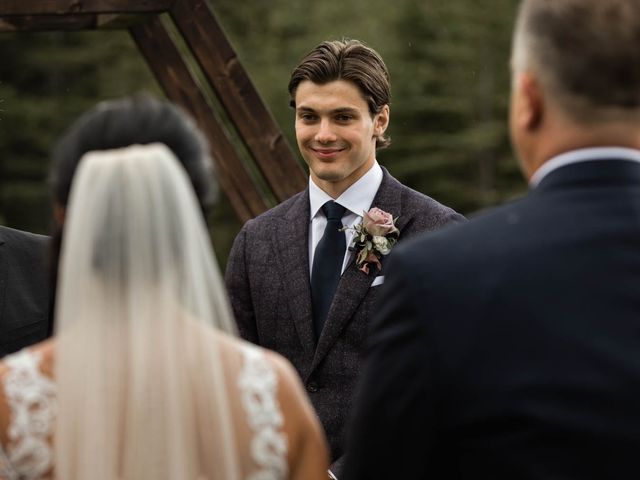 Dysin and Brittney's wedding in Canmore, Alberta 119