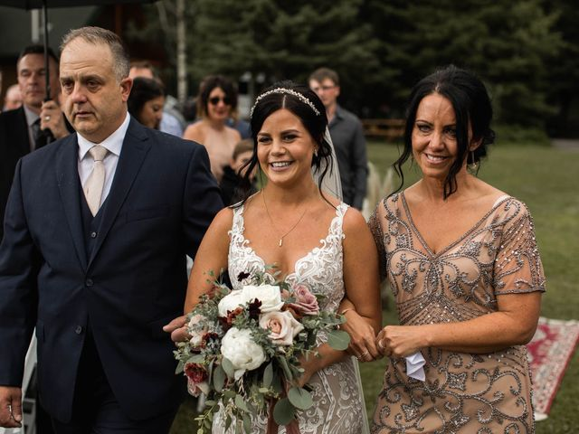 Dysin and Brittney's wedding in Canmore, Alberta 120