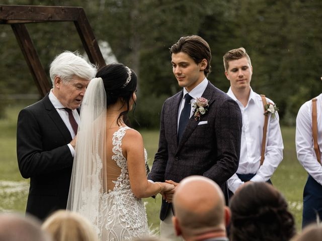 Dysin and Brittney's wedding in Canmore, Alberta 129