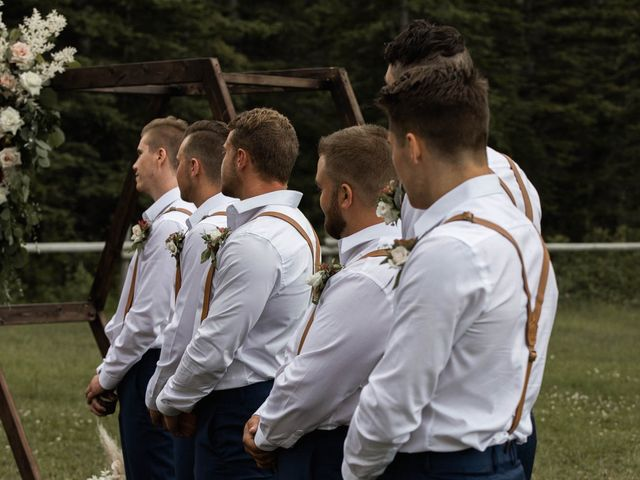 Dysin and Brittney's wedding in Canmore, Alberta 130
