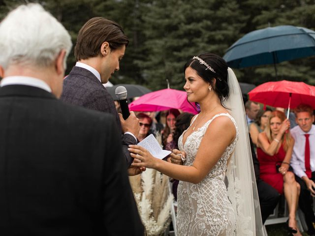 Dysin and Brittney's wedding in Canmore, Alberta 134