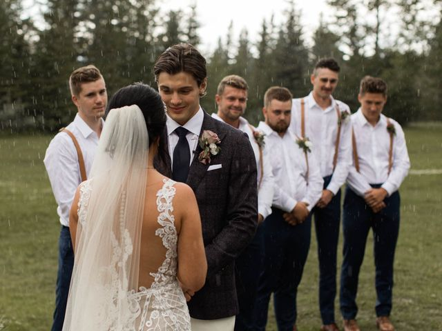 Dysin and Brittney's wedding in Canmore, Alberta 138