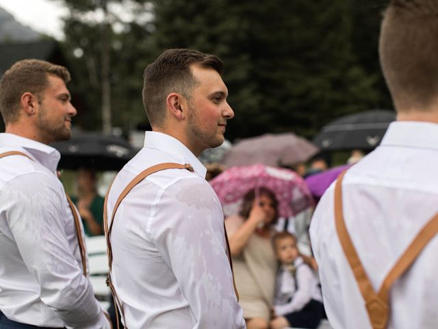 Dysin and Brittney's wedding in Canmore, Alberta 140