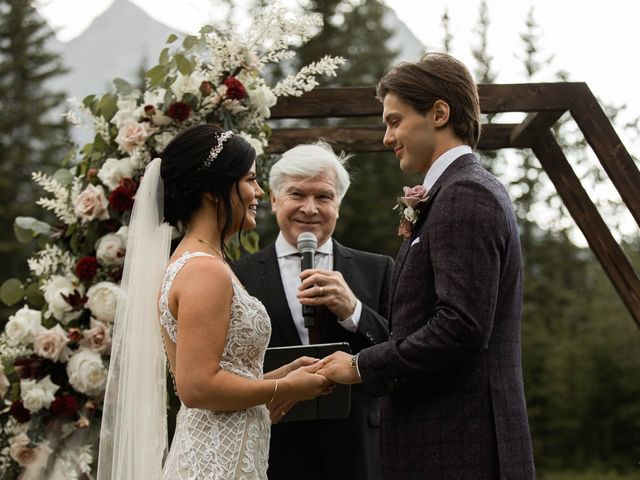 Dysin and Brittney's wedding in Canmore, Alberta 148