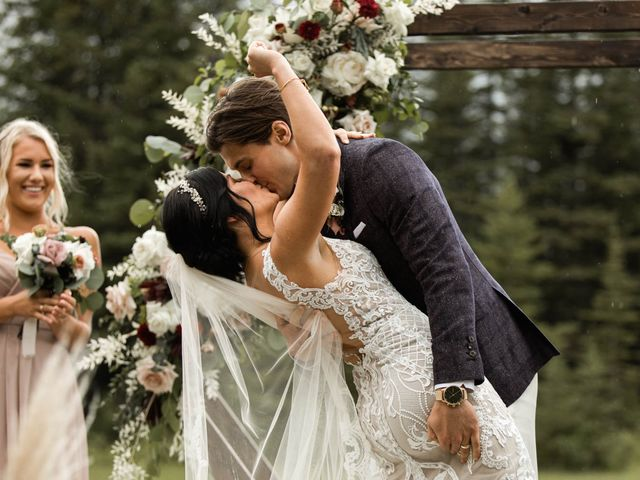 Dysin and Brittney's wedding in Canmore, Alberta 151