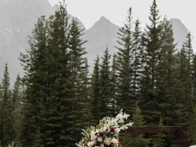 Dysin and Brittney's wedding in Canmore, Alberta 152