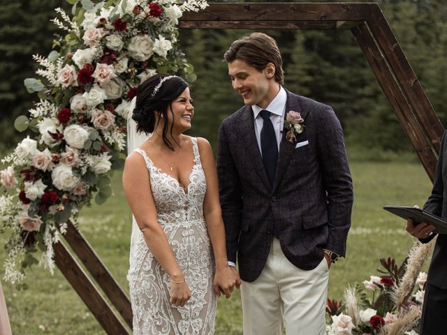 Dysin and Brittney's wedding in Canmore, Alberta 154