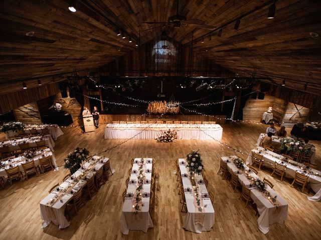 Dysin and Brittney's wedding in Canmore, Alberta 158
