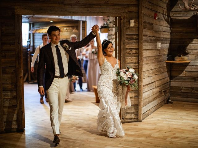 Dysin and Brittney's wedding in Canmore, Alberta 174