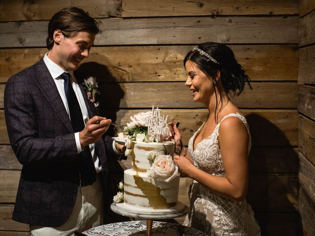 Dysin and Brittney's wedding in Canmore, Alberta 189