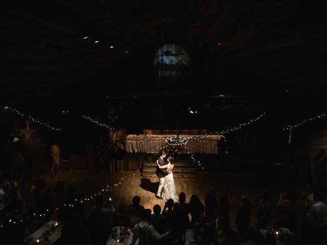 Dysin and Brittney's wedding in Canmore, Alberta 190