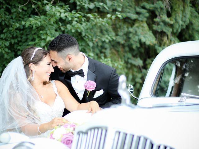 The wedding of Yara and John