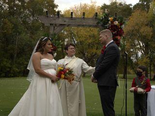 The wedding of Michael Schau Castillo and Aries Reyes Castillo 1