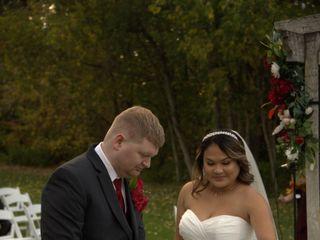 The wedding of Michael Schau Castillo and Aries Reyes Castillo 2