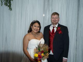 The wedding of Michael Schau Castillo and Aries Reyes Castillo