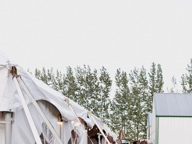 Cody and Tiana's wedding in Fort Qu'Appelle, Saskatchewan 31