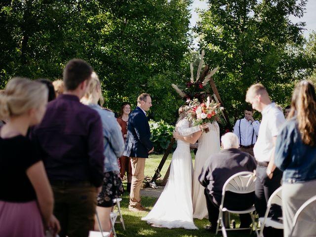 Cody and Tiana's wedding in Fort Qu'Appelle, Saskatchewan 66
