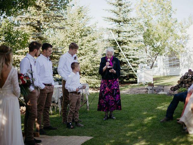 Cody and Tiana's wedding in Fort Qu'Appelle, Saskatchewan 70