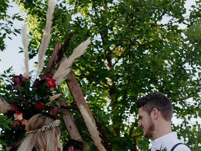 Cody and Tiana's wedding in Fort Qu'Appelle, Saskatchewan 78