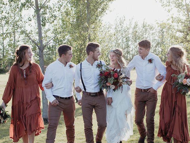 Cody and Tiana's wedding in Fort Qu'Appelle, Saskatchewan 86