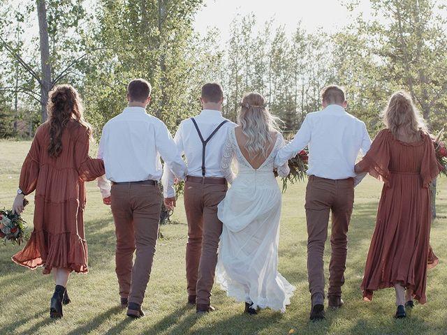 Cody and Tiana's wedding in Fort Qu'Appelle, Saskatchewan 87