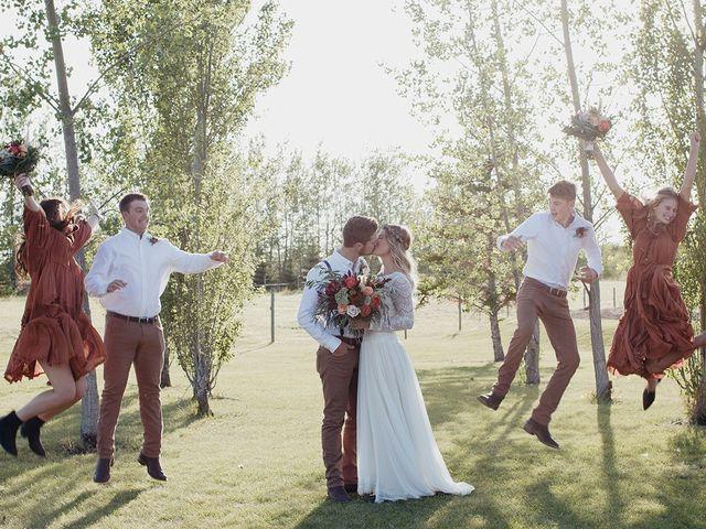 Cody and Tiana's wedding in Fort Qu'Appelle, Saskatchewan 88