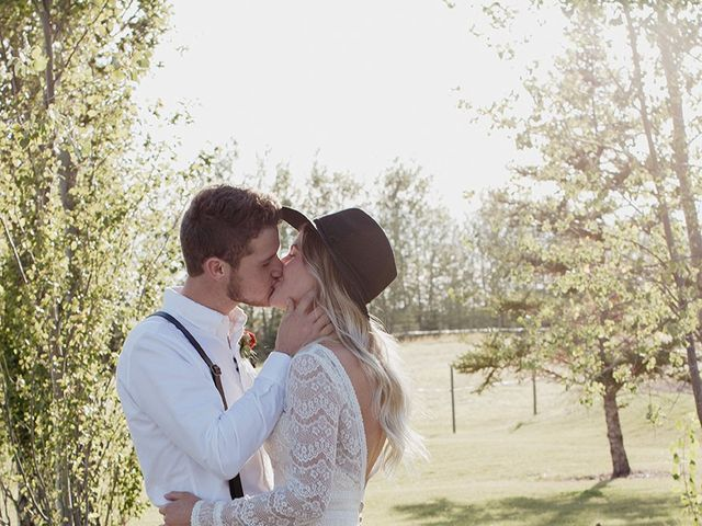 Cody and Tiana's wedding in Fort Qu'Appelle, Saskatchewan 96