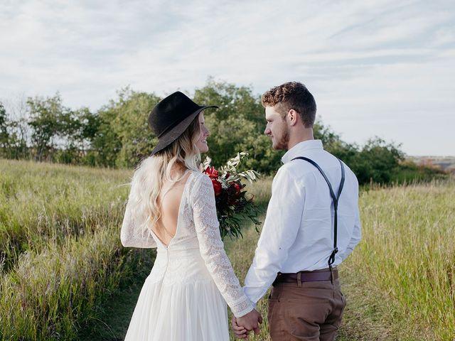 Cody and Tiana's wedding in Fort Qu'Appelle, Saskatchewan 98