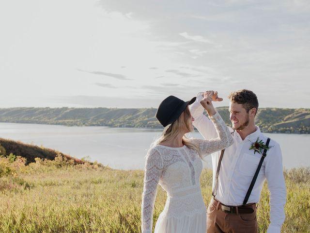 Cody and Tiana's wedding in Fort Qu'Appelle, Saskatchewan 105