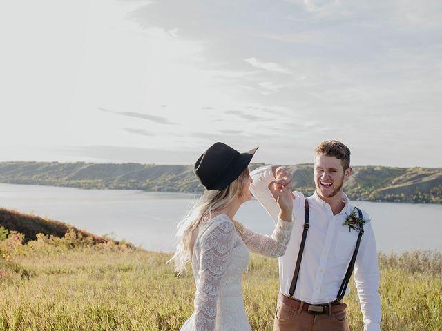 Cody and Tiana's wedding in Fort Qu'Appelle, Saskatchewan 106