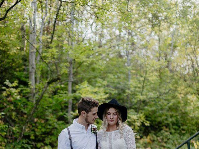 Cody and Tiana's wedding in Fort Qu'Appelle, Saskatchewan 109