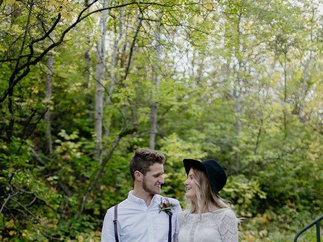 Cody and Tiana's wedding in Fort Qu'Appelle, Saskatchewan 110