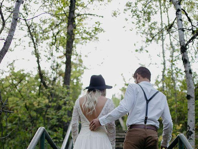 Cody and Tiana's wedding in Fort Qu'Appelle, Saskatchewan 112