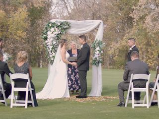 The wedding of Danielle and Shayne