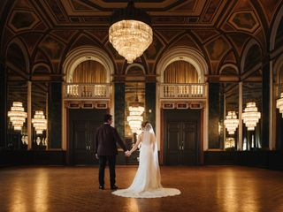 The wedding of Margarita and Anand