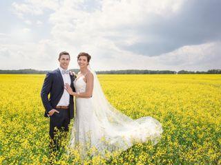 The wedding of Ryan and Kristen