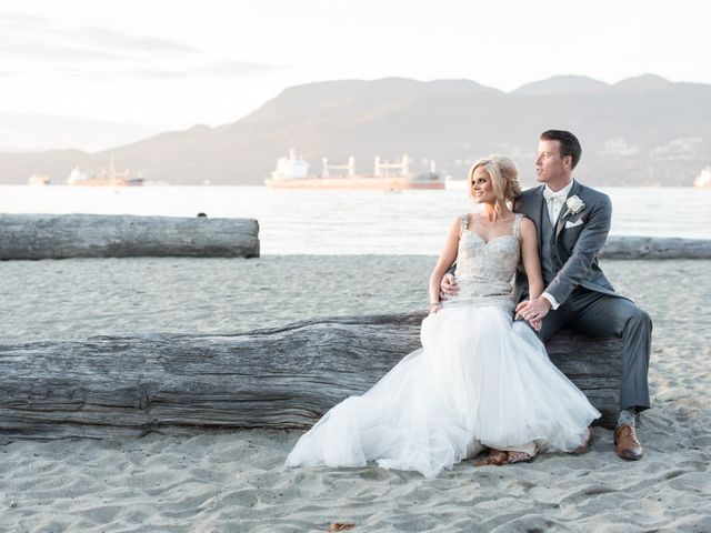 Brian and Marisa's wedding in Vancouver, British Columbia 36