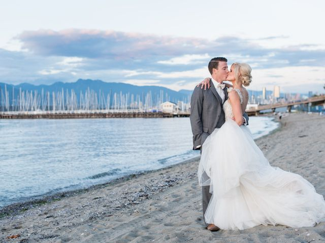 Brian and Marisa's wedding in Vancouver, British Columbia 38