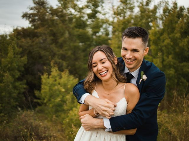 Danny and Elyse's wedding in Calgary, Alberta 6