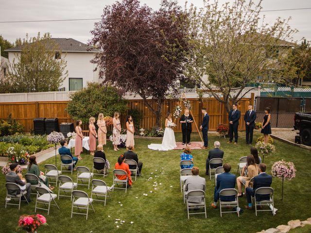 Danny and Elyse's wedding in Calgary, Alberta 10