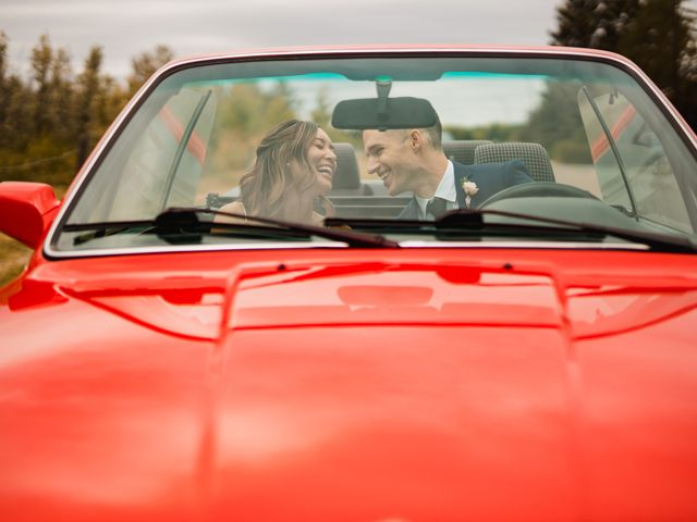 Danny and Elyse's wedding in Calgary, Alberta 1