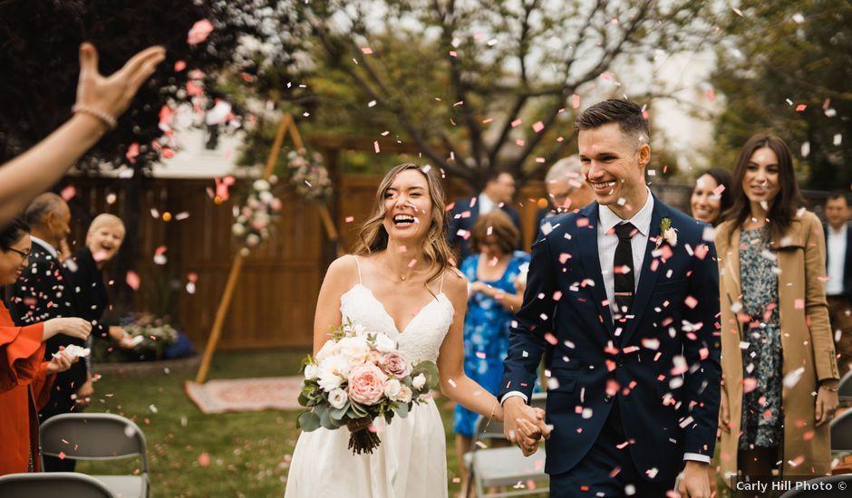 Danny and Elyse's wedding in Calgary, Alberta