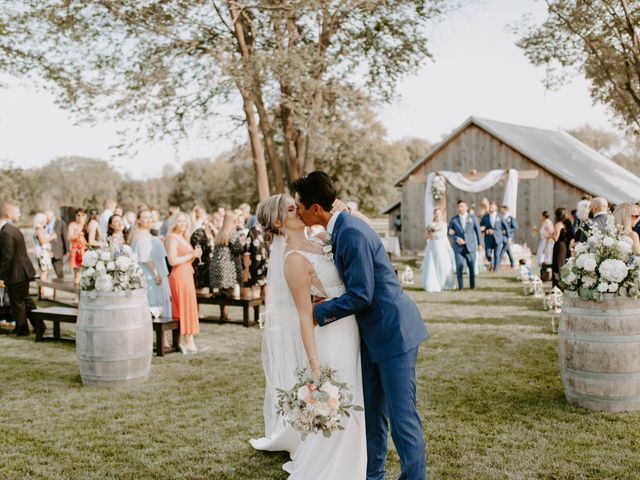 The wedding of Amy and Carson