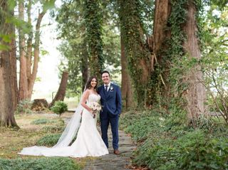 The wedding of Caitlin and David