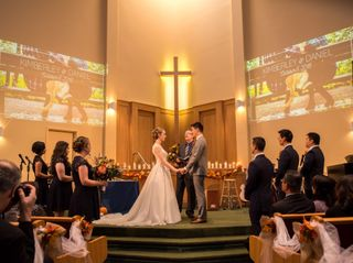 The wedding of Daniel and Kimberley 1