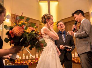 The wedding of Daniel and Kimberley 2