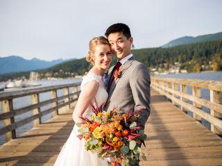The wedding of Daniel and Kimberley