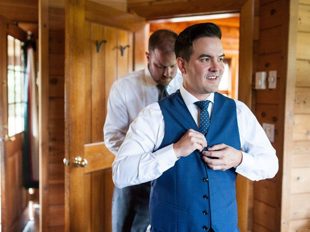 David and Caitlin's wedding in Harrison Mills, British Columbia 6